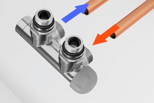 Монтаж маскирующего интегрированного комплекта для труб