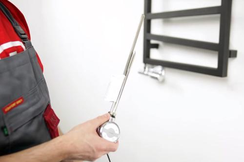 Установка нагревателя MOA без вилки