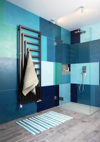 Изображение Электрический полотенцесушитель Terma Angus V №3