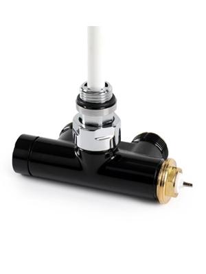 Вентиль интегрированый термостатический с трубкой угловой