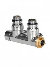 Вентиль интегрированный термостатический угловой 1/2 – 24x19